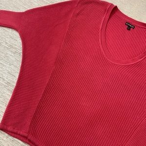 Express pink Dolman Sweater